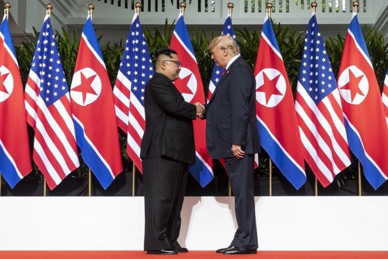 «Ядерная» встреча Кима и Тра…
