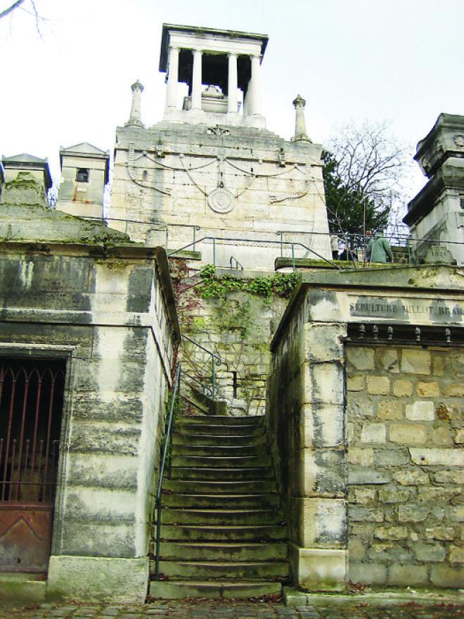 Склеп где похоронена Елизавета Демидова