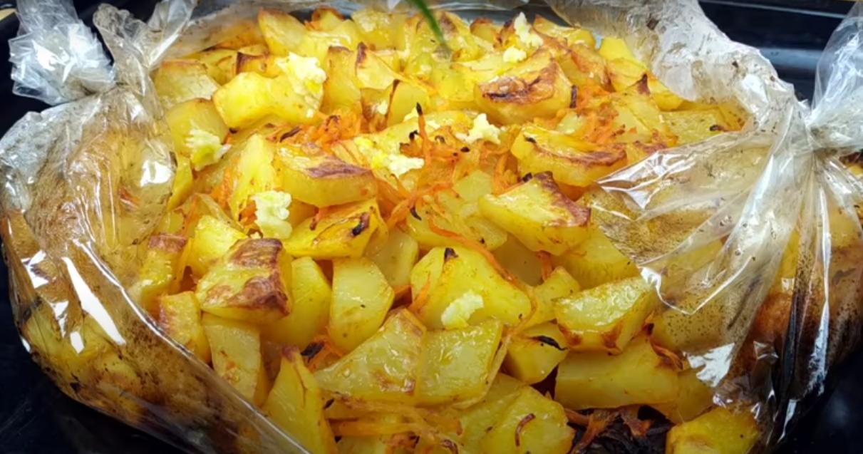 Невероятно вкусный запеченный картофель