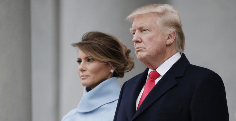 Мелания и Дональд Трамп нахо…