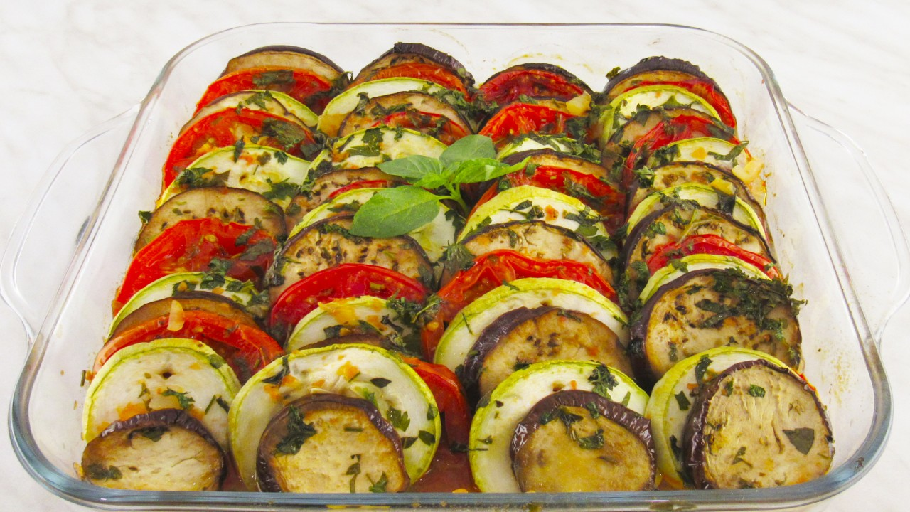 Рататуй: запеченные овощи в духовке