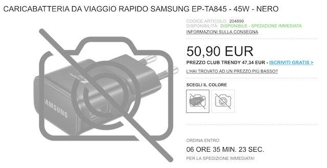 45-Вт зарядное устройство для Samsung Galaxy Note 10+ обойдётся в 50 евро новости,смартфон,статья