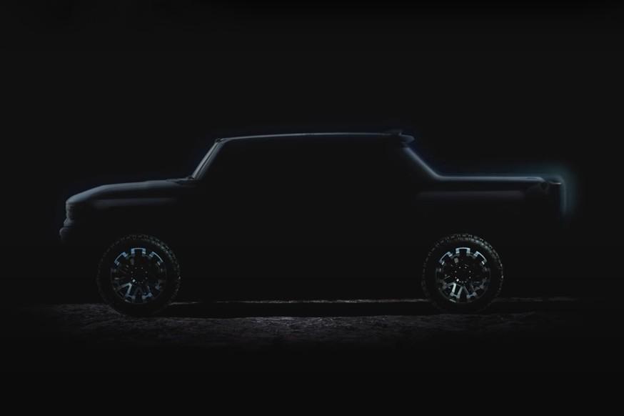 GMC продолжает подогревать интерес к пикапу Hummer: новый тизер и дата премьеры авто,авто и мото,видео,водителю на заметку,машины,новости автомира,Россия,тюнинг