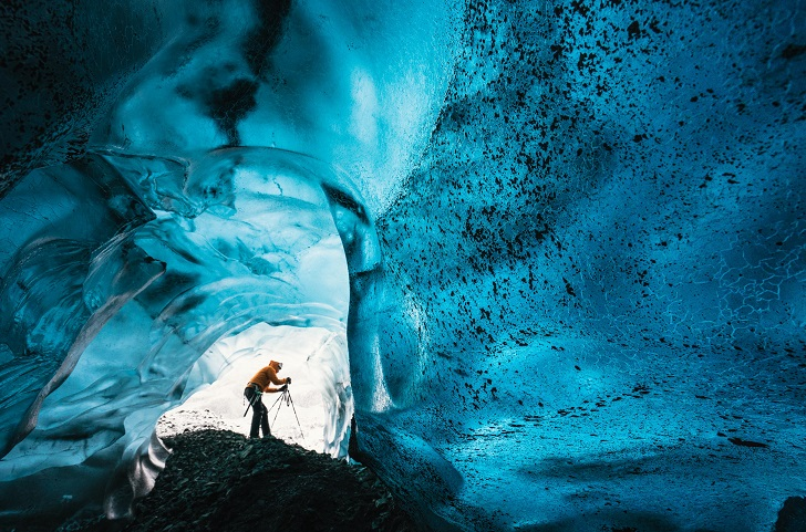 Ледяная красота в фотографиях