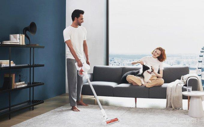Пылесос Mi Handheld Vacuum Cleaner G10 выходит на российский рынок по цене 22 тысячи рублей
