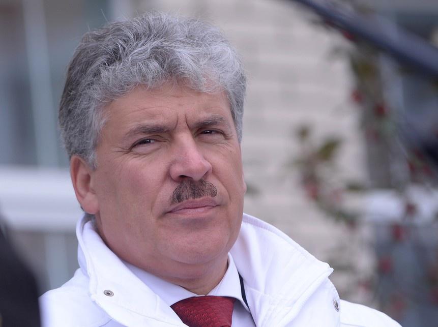Олег Двуреченский. Грудинин может оказаться как господином Лебедем в 96-ом так и настоящим лидером.