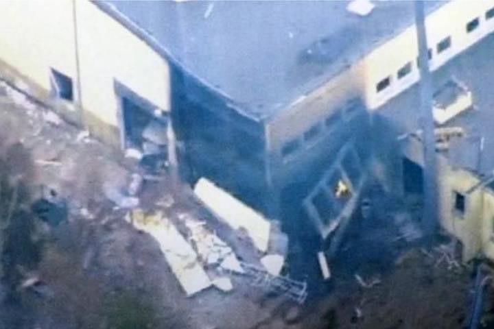 В ФРГ на заводе по утилизации боеприпасов произошел взрыв
