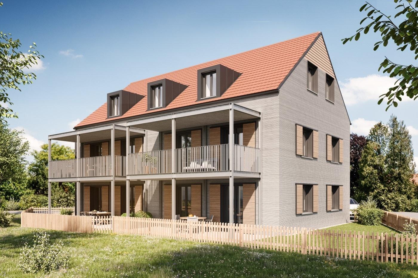 В Германии начали печатать жилую трехэтажку — крупнейшее в своем роде здание в мире