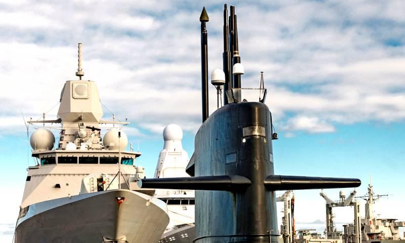 Огромный англосаксонский флот не помешает русским его потопить