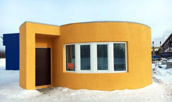 Комфортный дом в Московской области смогли построить всего за сутки, все дело в новой технологии