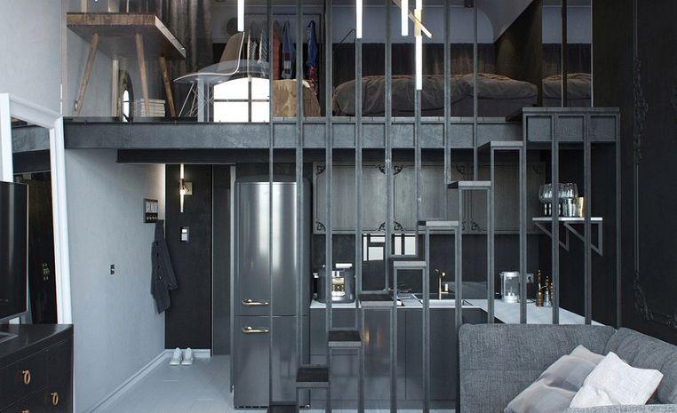 Перерождение «сталинки» в современную квартиру-студию