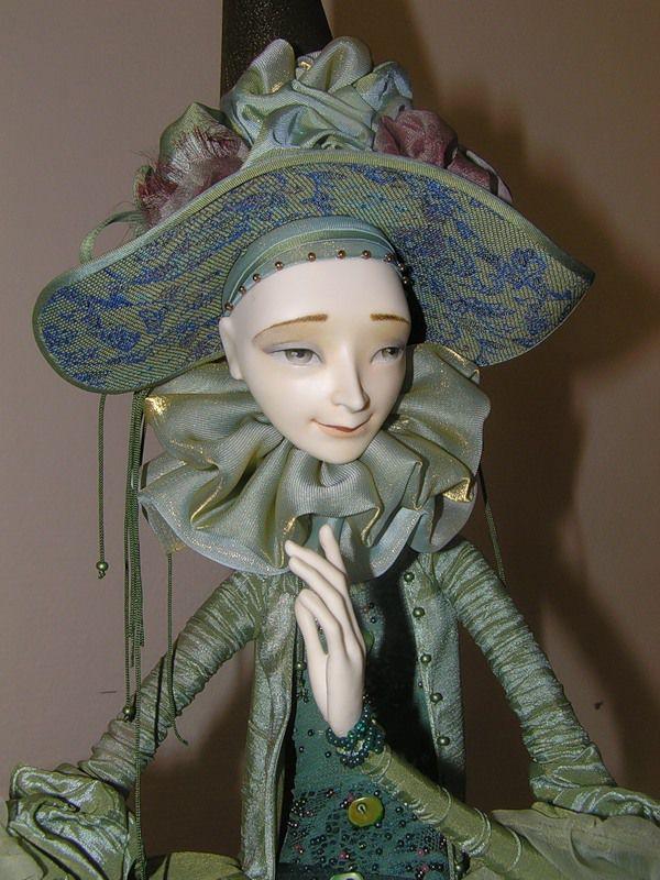 Кукольная сказка из папье-маше Натальи Лопусовой-Томской мастерство,папье-маше,творчество