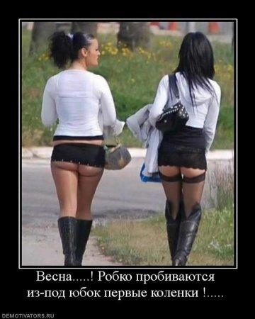 Весна - когда женщины, как ц…