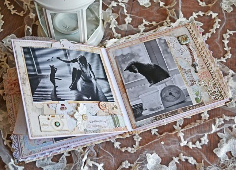 Оформляем памятный альбом скрапбукинг о самых чудесных событиях в жизни мастер-класс,рукоделие,скрапбукинг