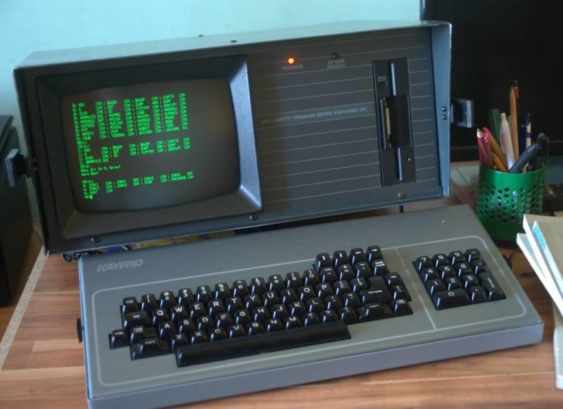 KAYPRO 10 гики, коллекционирование, компьютеры, ностальгия, ретро, ретрокомпьютеры