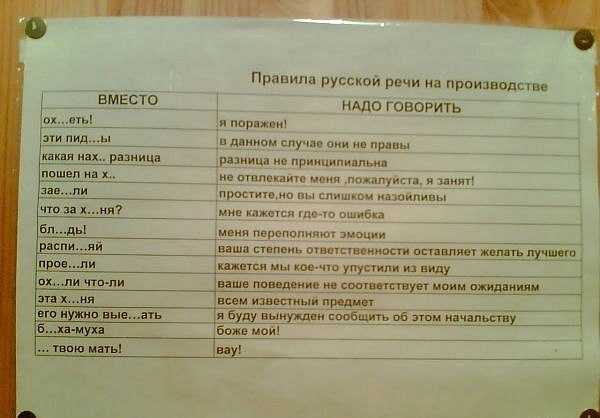 Самое интересное о русском мате (18+).