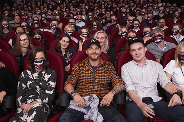 Том Харди представил в Москве свой новый фильм