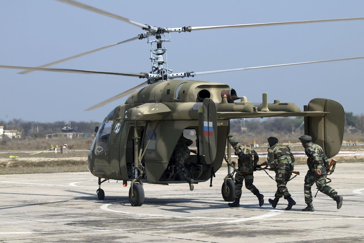 Создано индийско-российское совместное предприятие по производству вертолетов Ка-226Т в Индии
