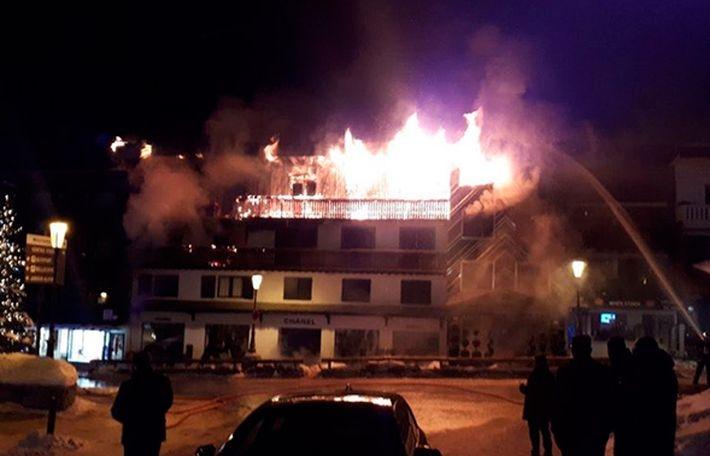 При пожаре в Куршавеле погиб…