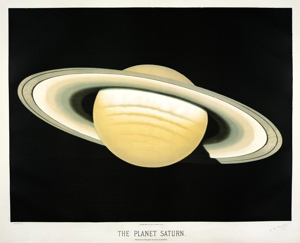 Старинные астрономические рисунки Этьена Трувело 2