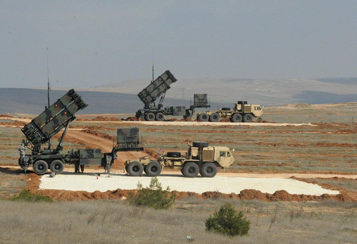Системы ПВО Patriot в Саудовской Аравии
