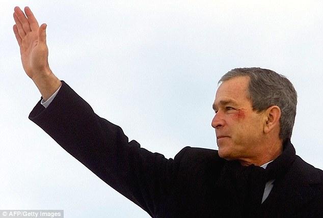 Джордж Буш-младший в 2002 году