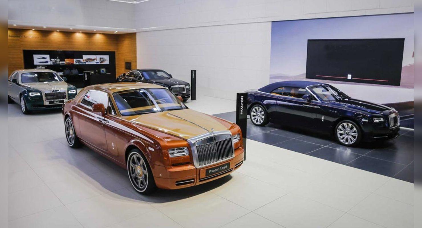 Rolls-Royce в 2020 году установил новый рекорд продаж в РФ Автобизнес