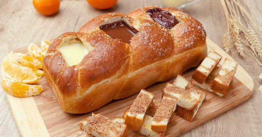 Хлеб «Три шоколада»