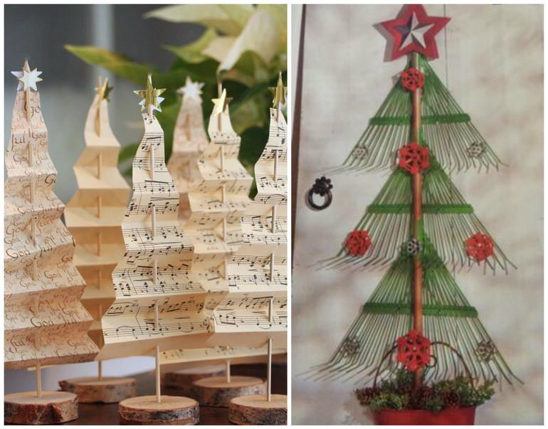 Изготовление необычной новогодней ёлки: 10 креативных идей вдохновляемся,новогодний декор