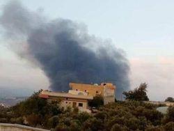 ВВС Израиля атаковали Сирию, часть ракет сбита силами ПВО