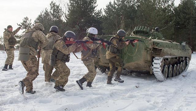 Украина готовится к блицкриг…