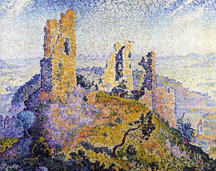 Руины Гримо, 1899. Автор: Поль Синьяк.