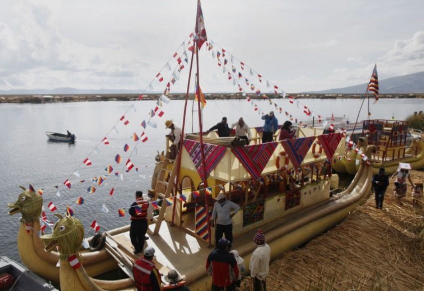 terraoko 2014111906 13 Плавающие деревни в Перу.