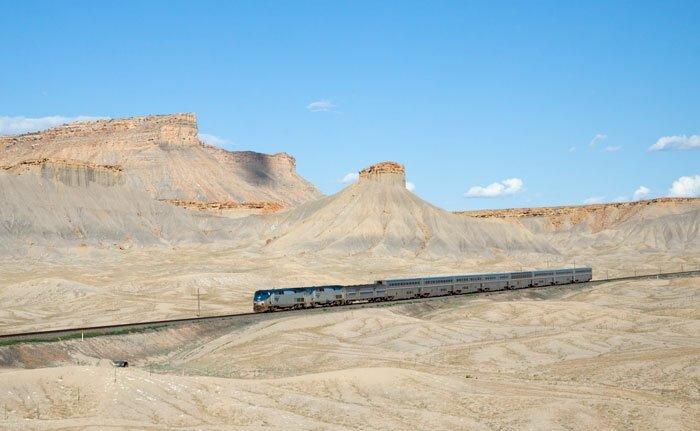Необыкновенное путешествие на поезде через всю Америку америка, необычная поездка, оригинально, поезд, путешествия, сша, удивительно, через континент