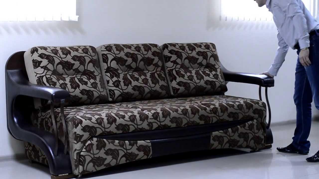 Этот необычный диван поразил всех посетителей магазина! Шедевр инженерной и дизайнерской мысли!