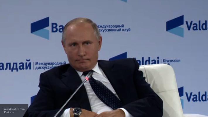 Путин: РФ нанесла серьезный урон боевикам в САР, сохранив ее государственность