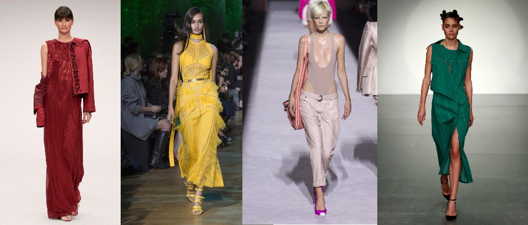 Модные цвета весны-лета 2018 года
