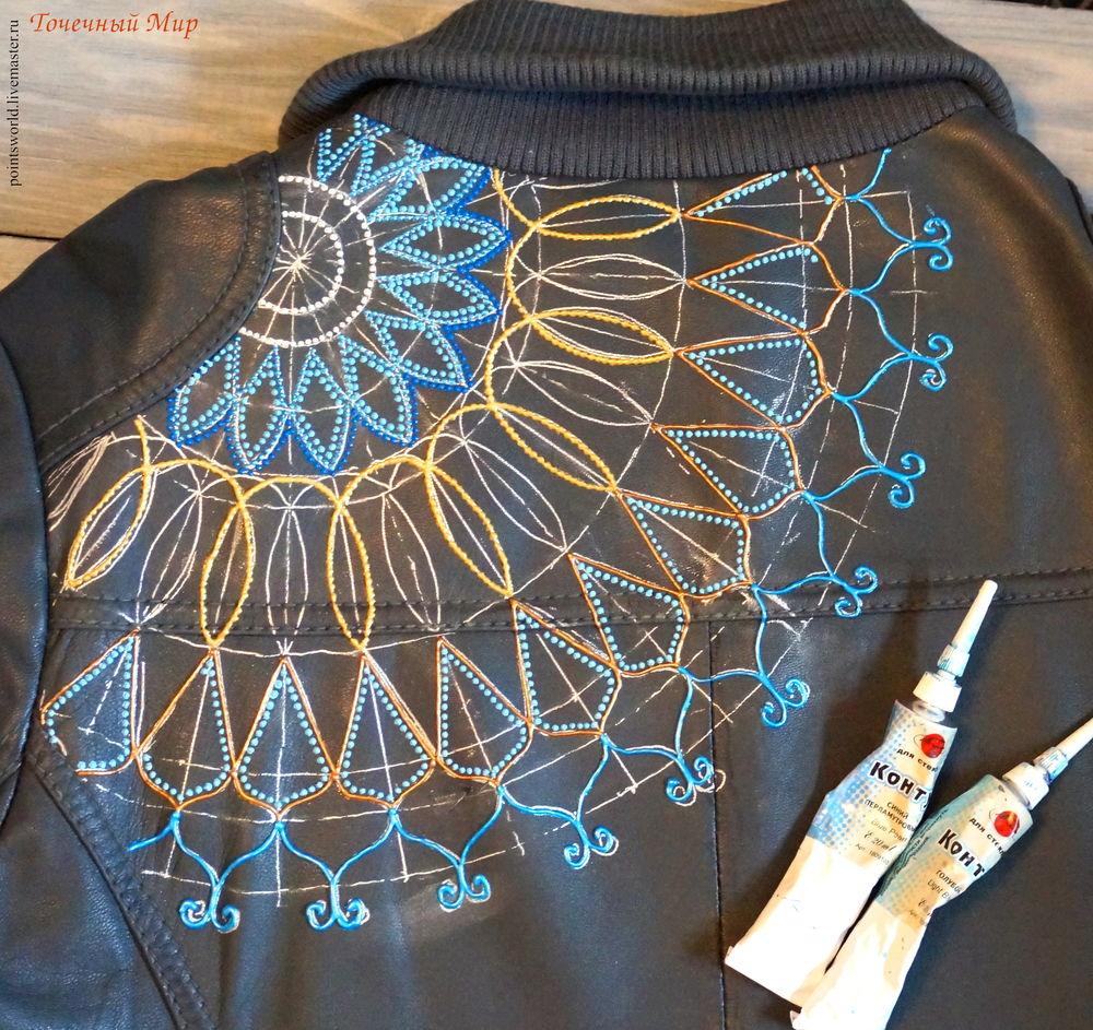 роспись куртки