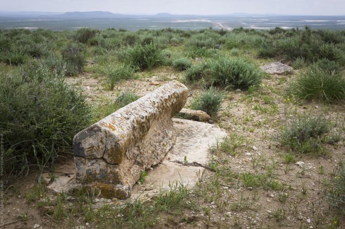 Руины святилища. / Фото: Юля Назаренко.
