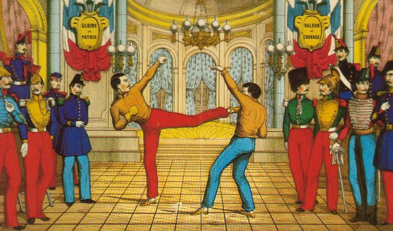 Французское боевое искусство сават: история формирования