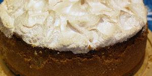 Песочный сладкий яблочный пирог