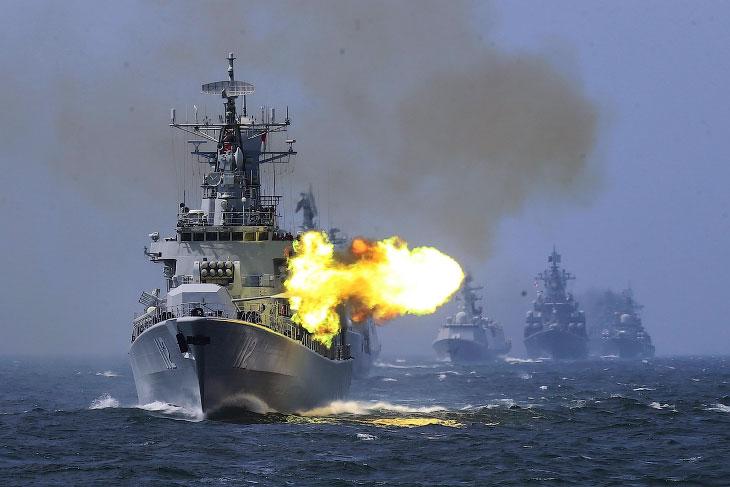 Морские корабли в объективе