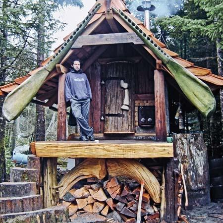 Необычные дачные домики: творчество дачников