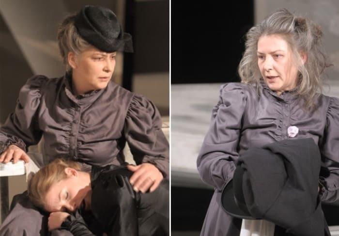 Актриса на сцене театра | Фото: mega-stars.ru