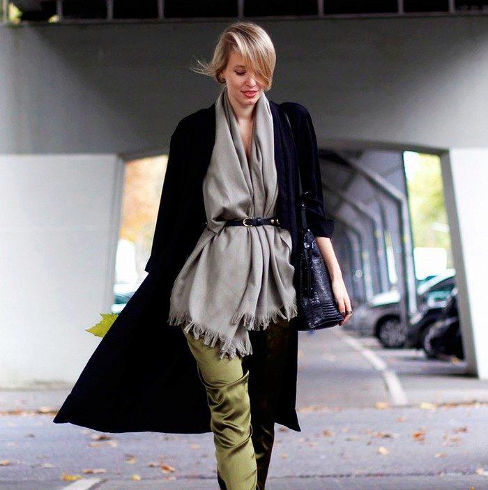 Вязаная мода 2018 и 5 главных вещей этой осени в street style-обзоре