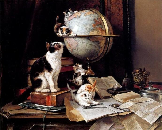 История появления кошек в России