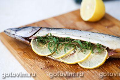 Картофельный рулет с рыбой и овощами, Шаг 01