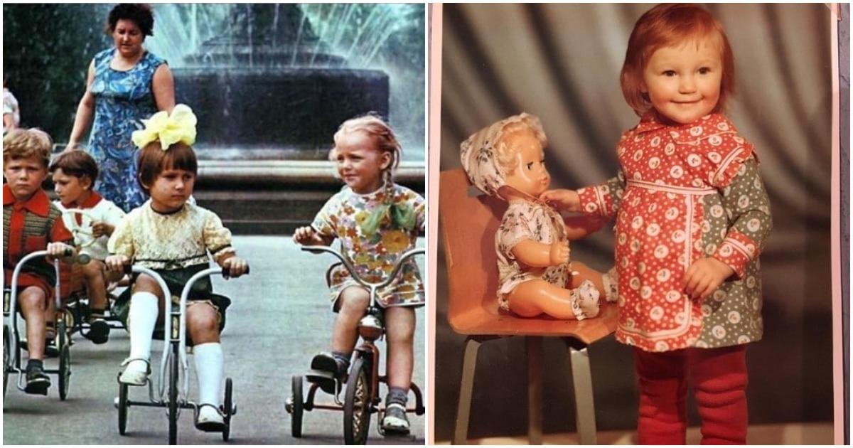 25 фотографий, которые покажут каким было наше советское детство