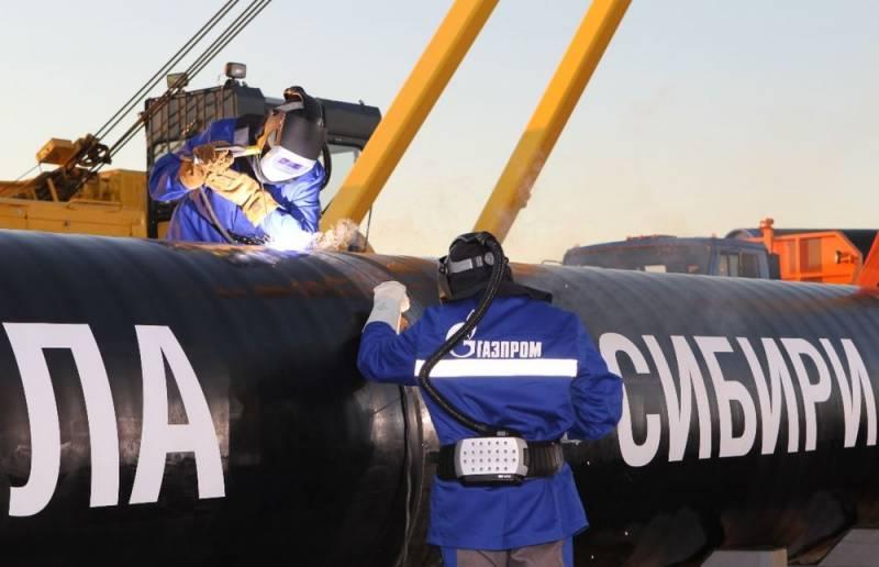 Китай продолжает игнорировать российский газ, идущий по «Силе Сибири»