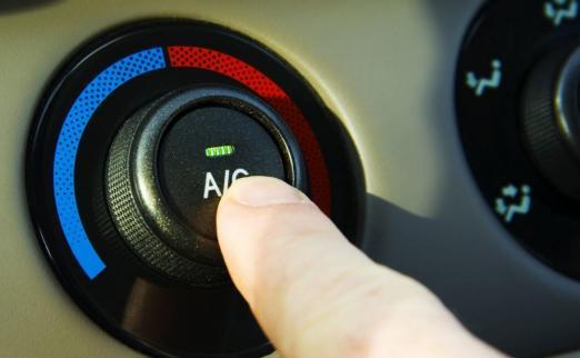 В автомобильных кондиционера…